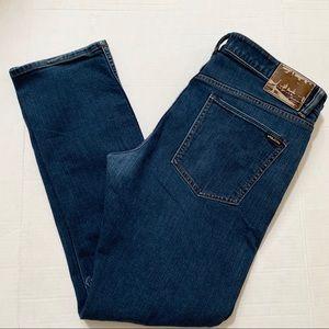 Volcam Vortex Slim Form Fit Stretch Jeans 36 Denim